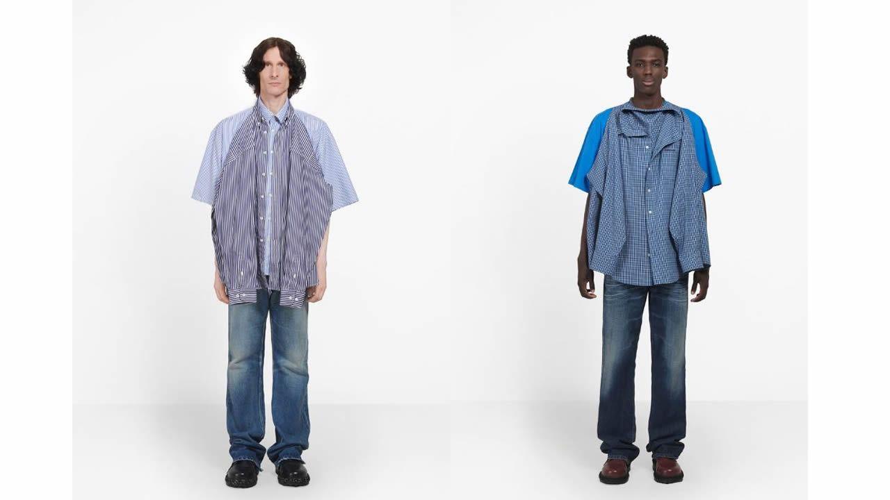 La «camiseta camisa» de Balenciaga de la que se ríe todo el mundo 6efe1d058afab