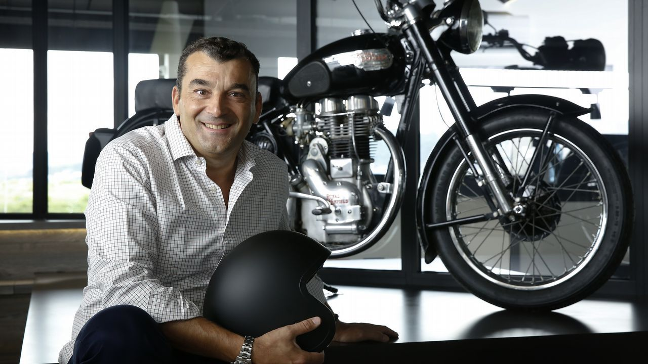 Manel Botana: «Todos los domingos me caigo de la moto, pero no me ...