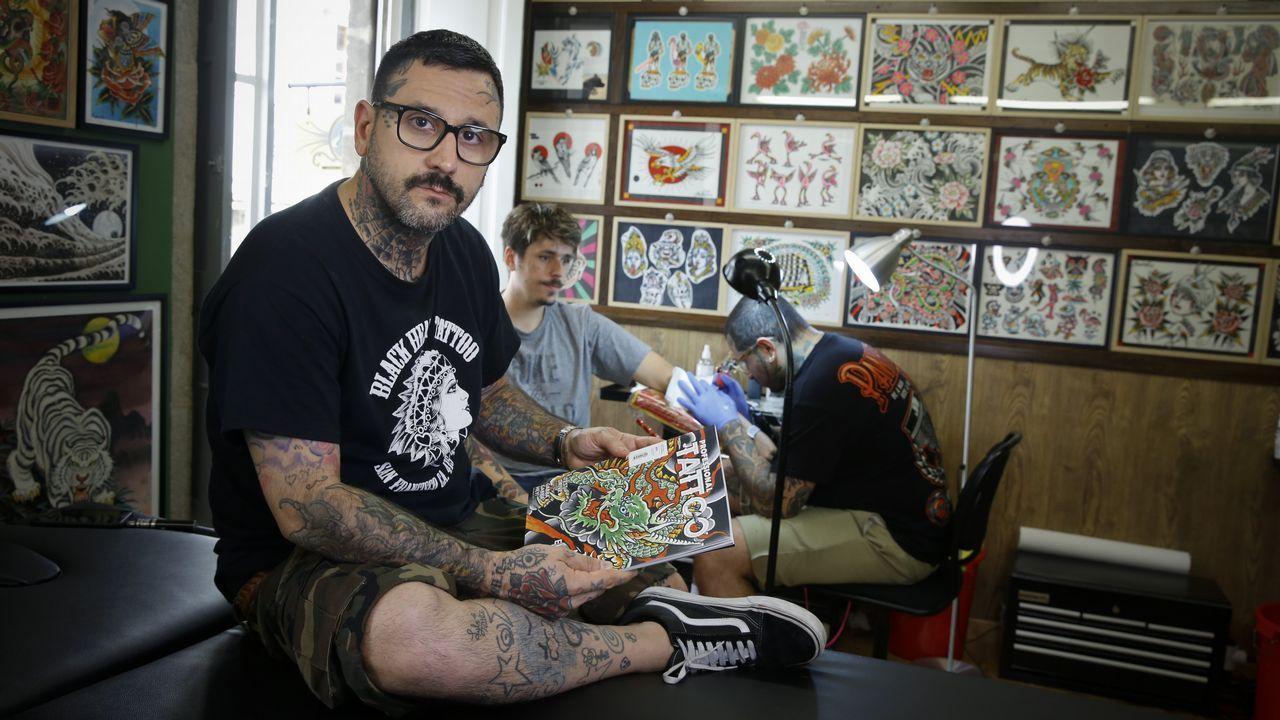 Danniel Anibal Scatturice Estamos Perdiendo El Pudor Al Tatuaje