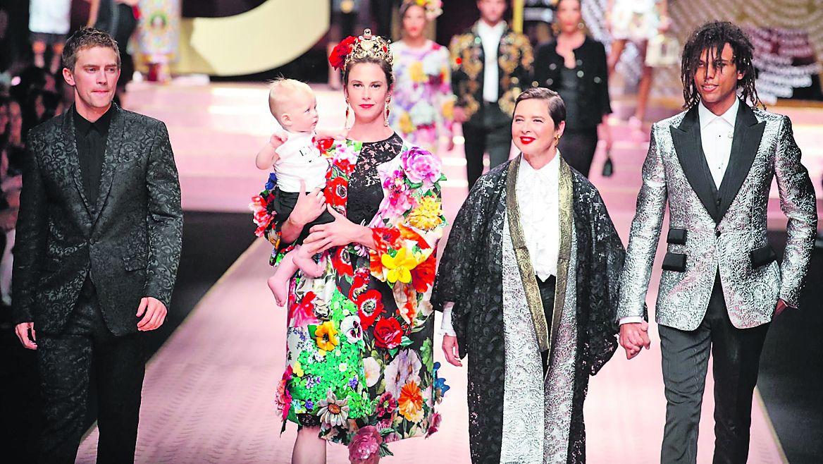 bf682b0590d La gran fiesta de Dolce   Gabbana