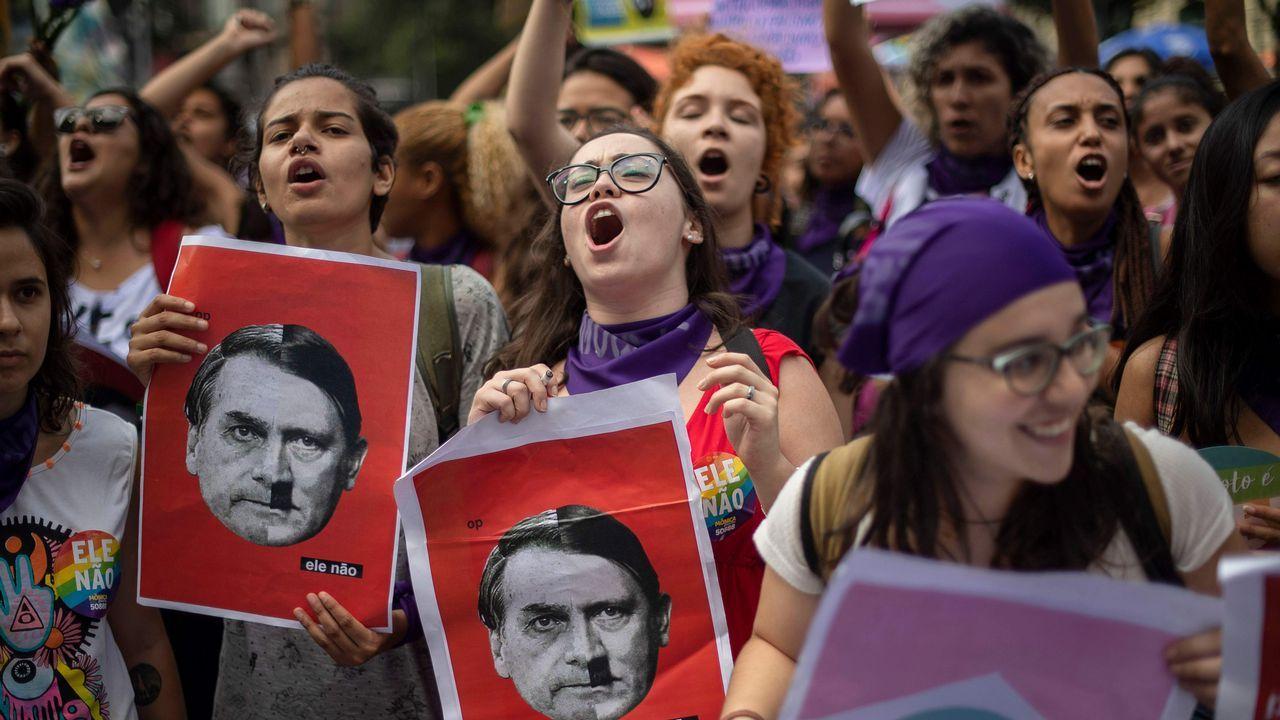 Brasil| Masivo repudio a la candidatura de Bolsonaro