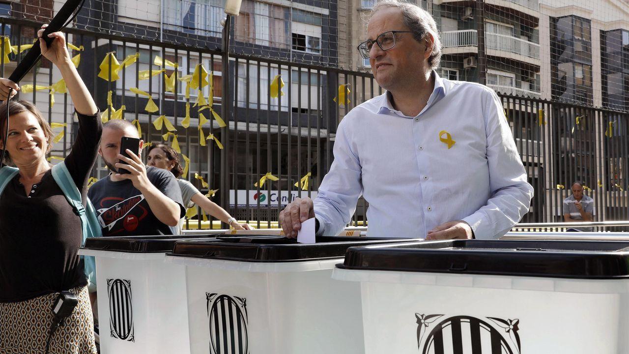 Cataluña celebra el primer aniversario del 1-O entre actos ...