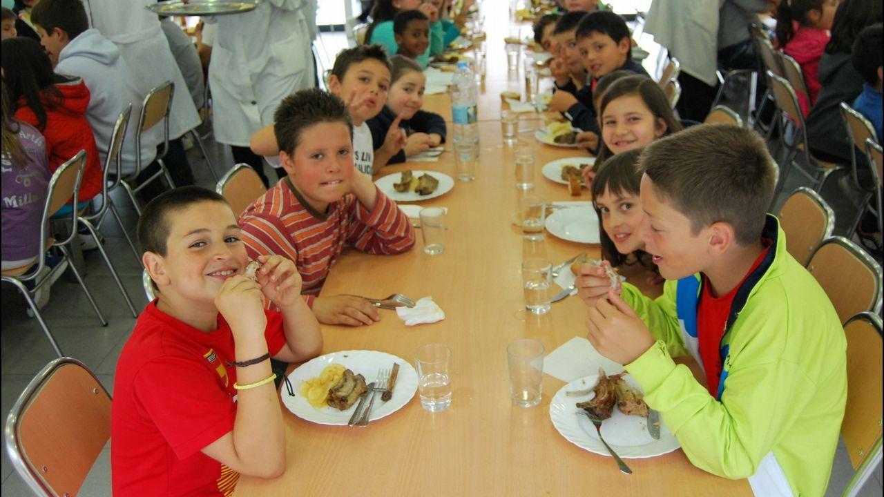 Ames prevé una demanda de dos mil plazas de comedores escolares ...