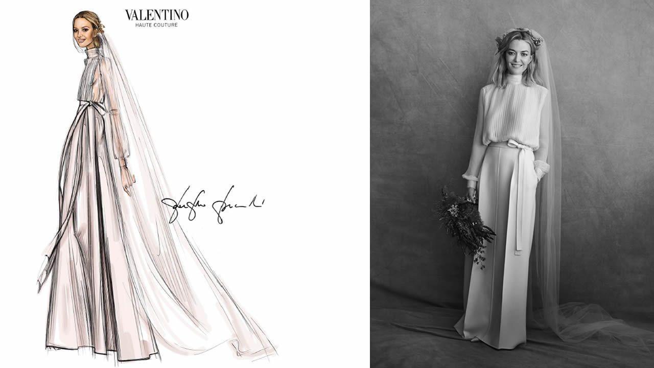 df777a9279 Todos los detalles del vestido de novia de Marta Ortega