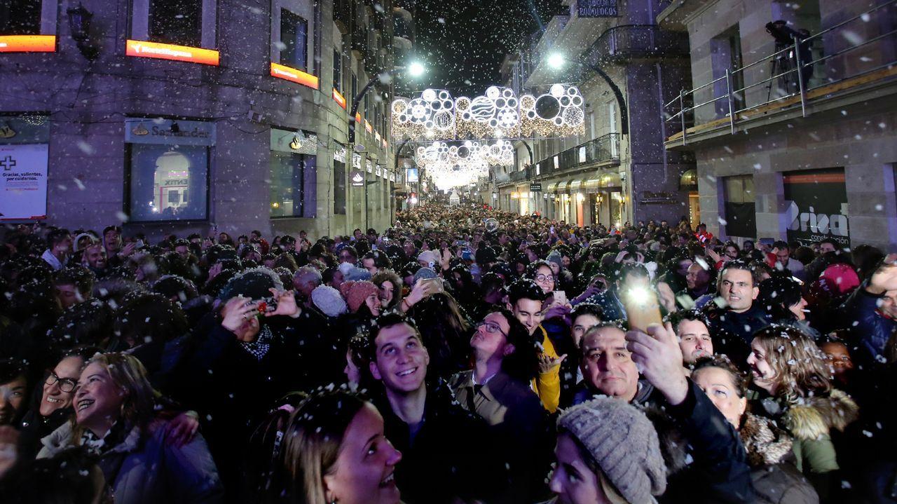 dd36febcbc7 Deslumbrante Navidad anticipada en Vigo con el encendido de las luces