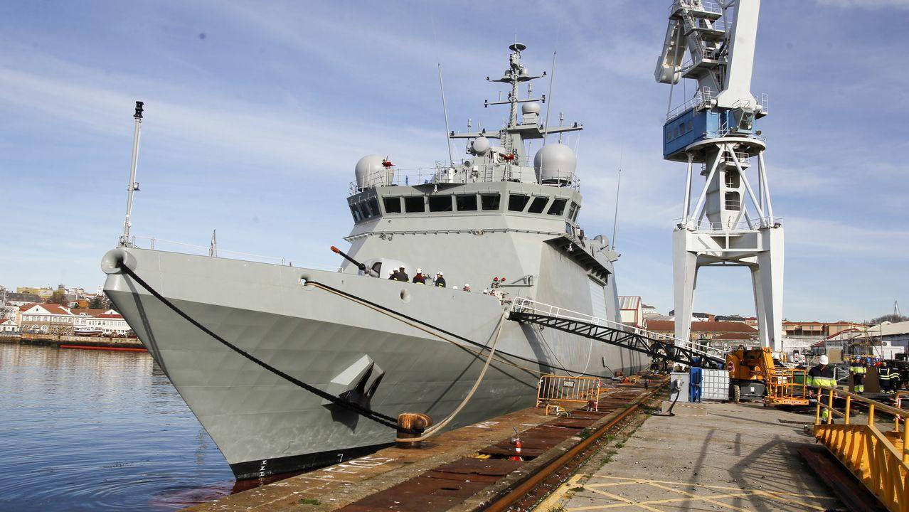 Navantia ultima los preparativos para entregar el buque a la Armada