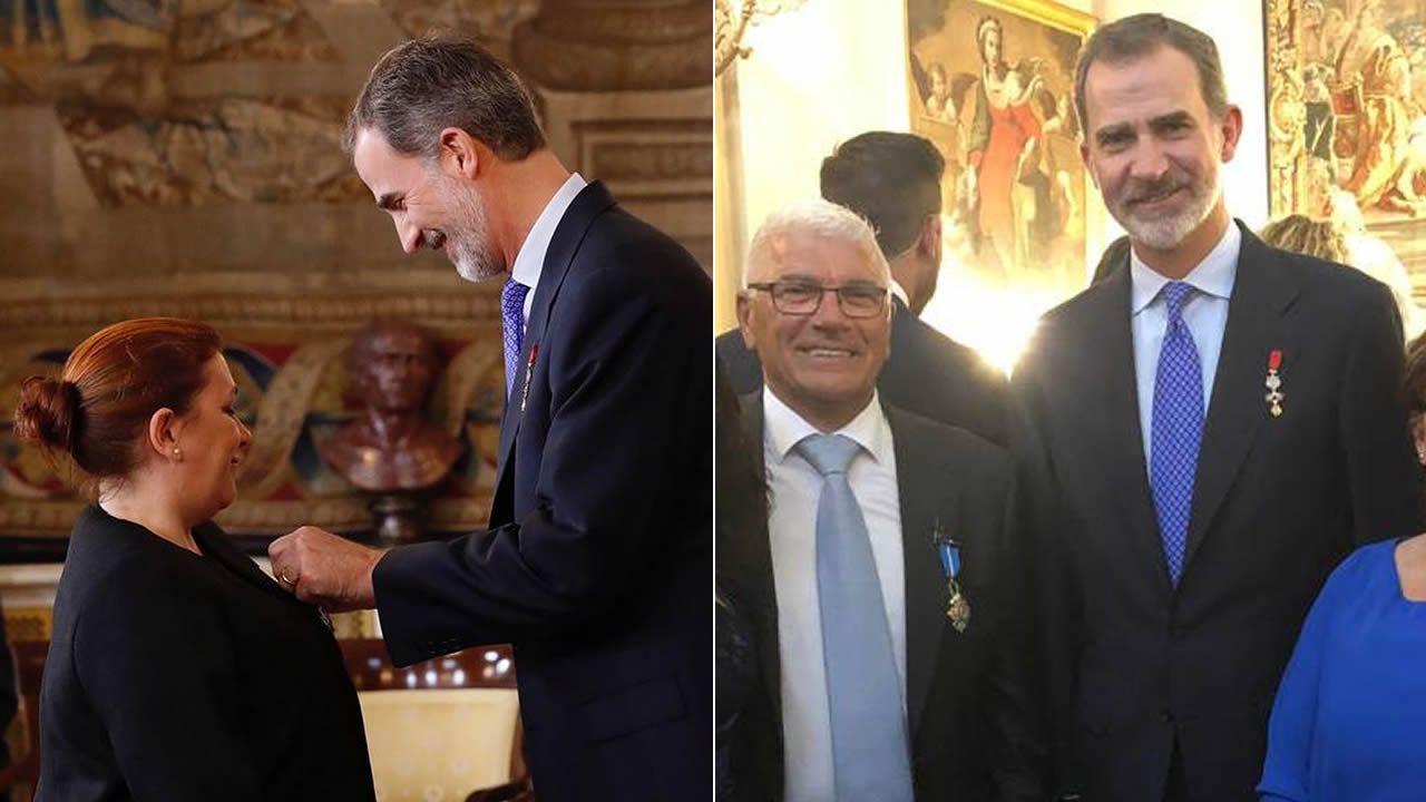 Dos Gallegos Condecorados Con La Orden Del Merito Civil