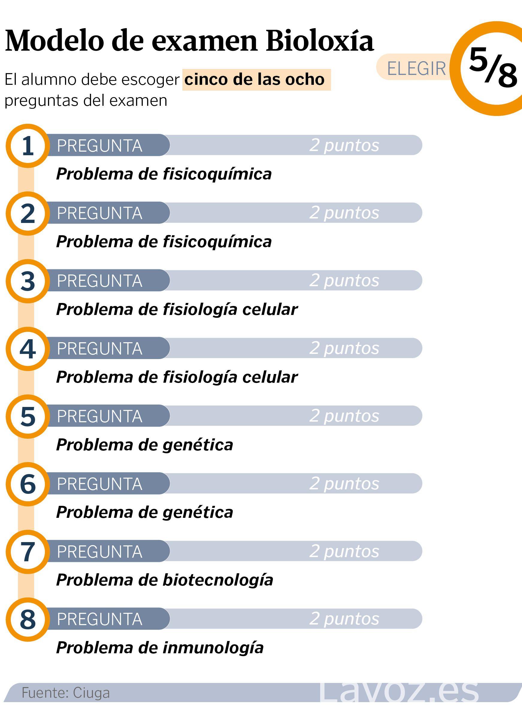 Estos Son Los Nuevos Examenes De Selectividad De Galicia