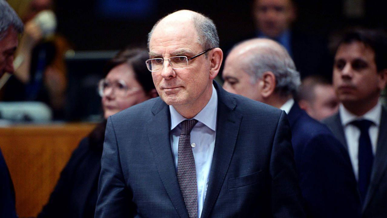 .El ministro de Justicia belga, Koen Geens