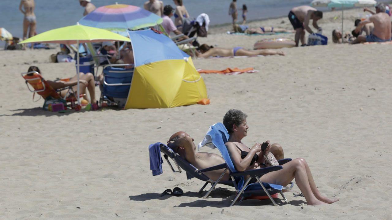 Agosto traerá temperaturas extremas a Galicia