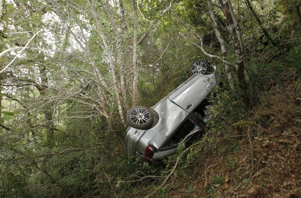 Accidente de tráfico en Navia de Suarna