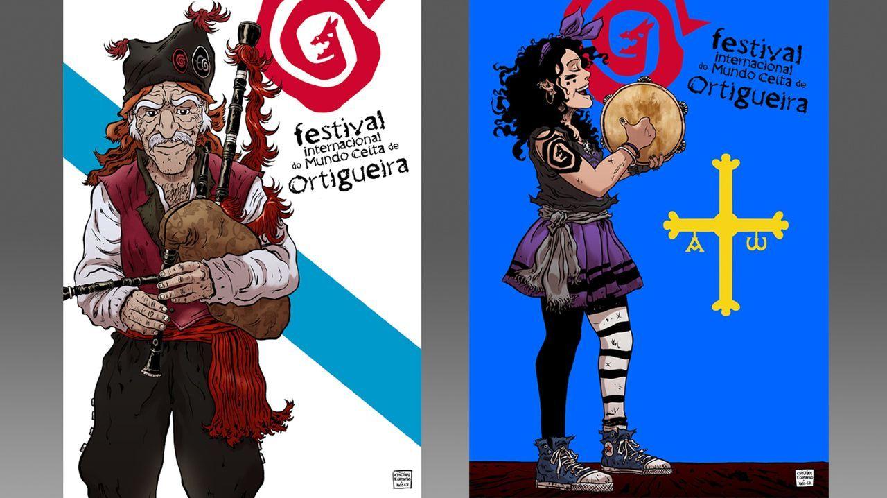 As oito nacións celtas, representadas no Festival de Ortigueira