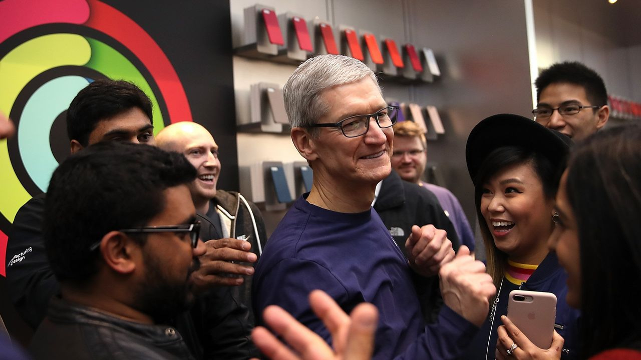 El CEO de Apple, uno de los grandes anfitriones en la llegada del Iphone X.