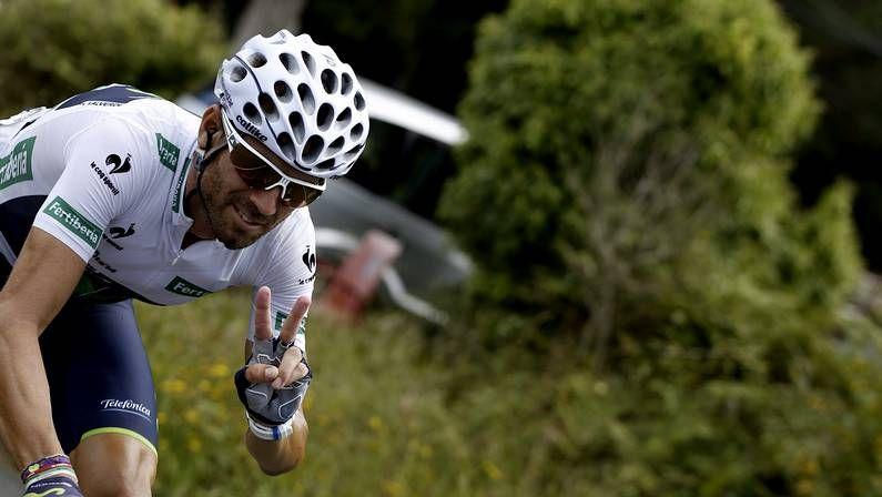 La décima etapa del Tour de Francia en imágenes.Nibali, durante la presentación del Tour 2015