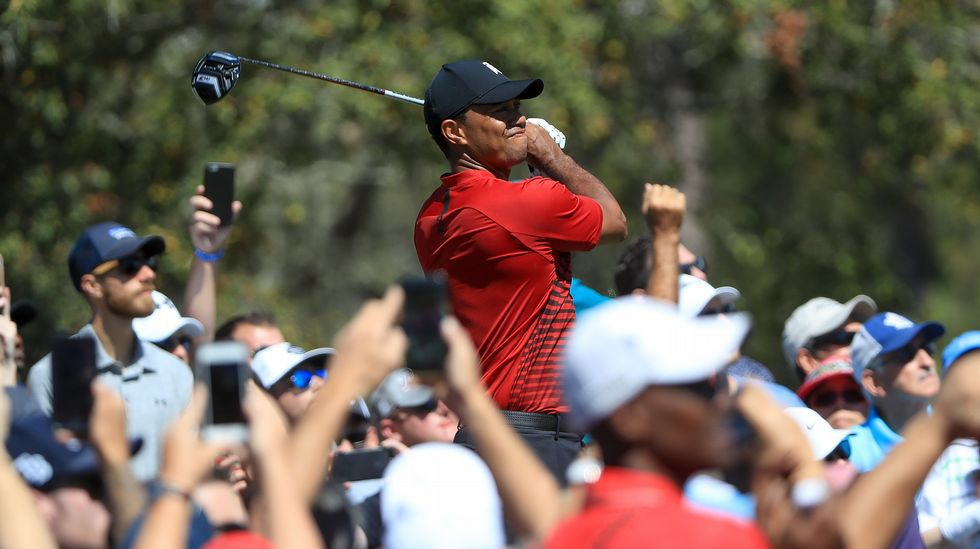 .Tiger Woods vuelve a enamorar al público