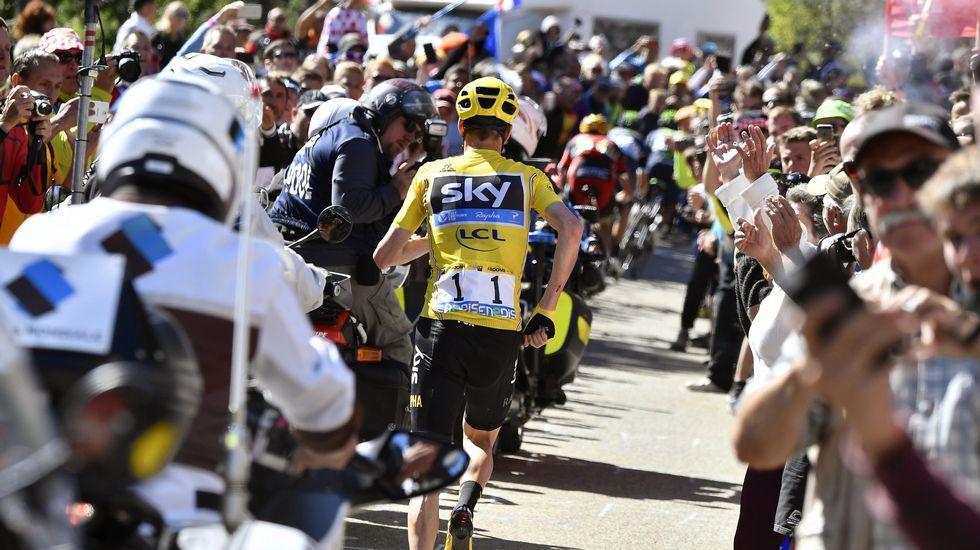 Así fue el rocambolesco final de etapa en el Tour.Dani Navarro