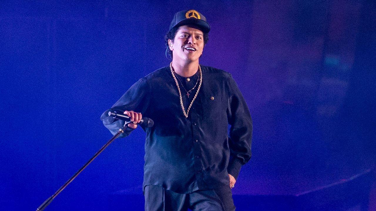 .Bruno Mars