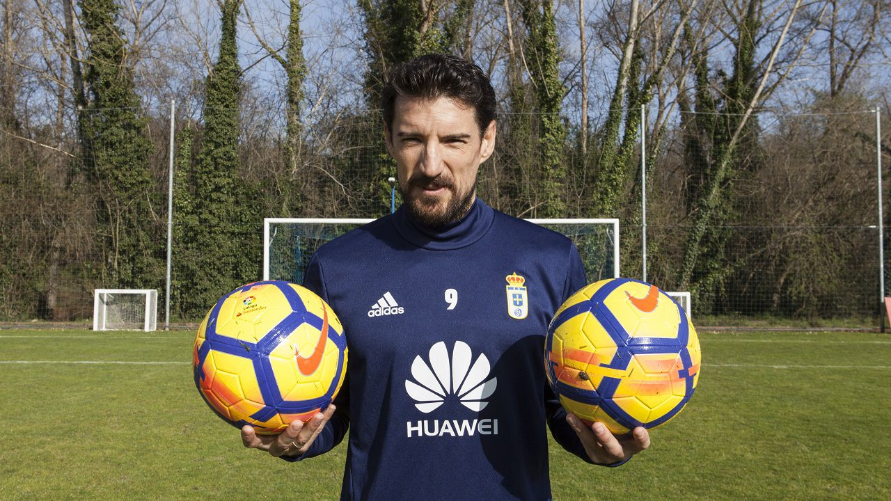 Toche entrevista Requexon Real Oviedo.Toche, en El Requexon