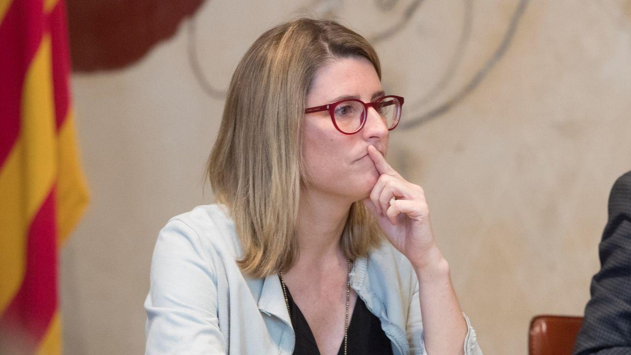 Torra y Puigdemont avisan a Sánchez de que se acaba su «periodo de gracia».La consellera de Presidencia y Portavoz del Govern, Elsa Artadi