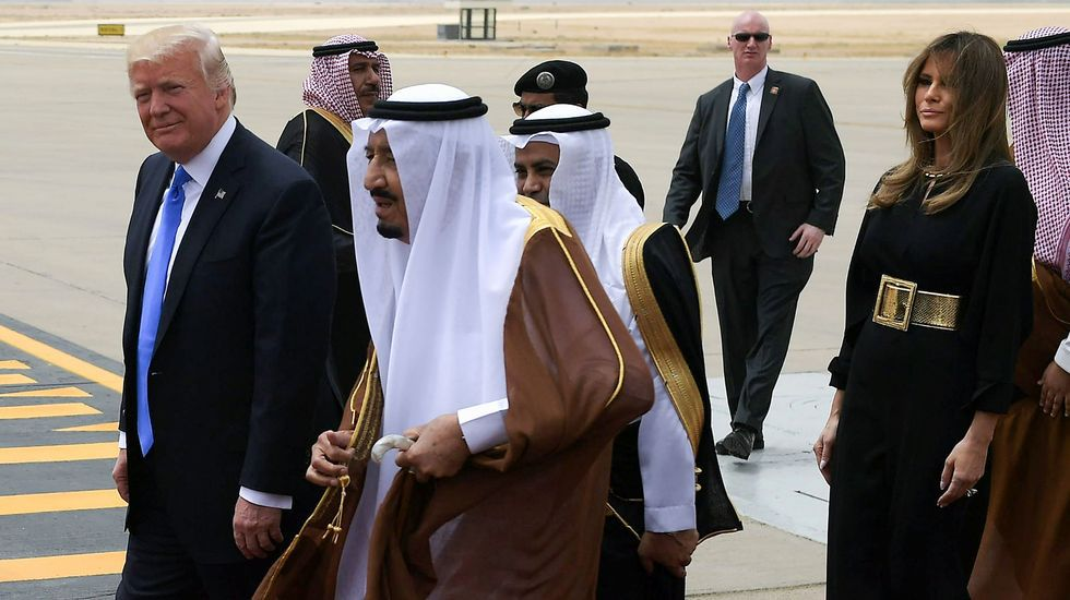 Primera gira internacional de Trump a Riad