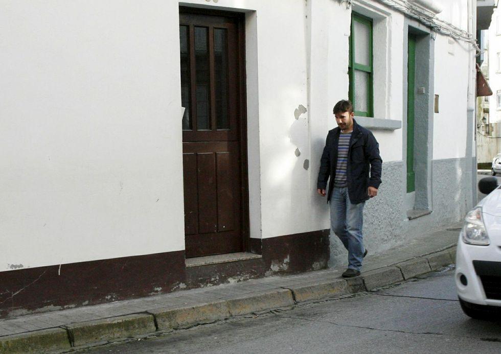 El concello 313.<span lang= es-es >La acera urbana más estrecha.</span> La calle Ribeira de Betanzos cuenta con uno de los accesos más angostos.