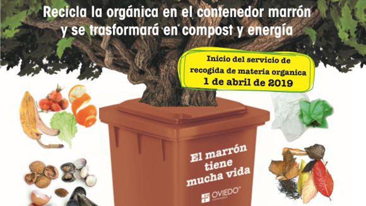 La campaña de Somos al estilo Pantomima Full.Cartel promocional del cubo marrón