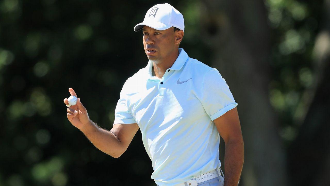 Tiger Woods afronta su primer grande desde el 2015