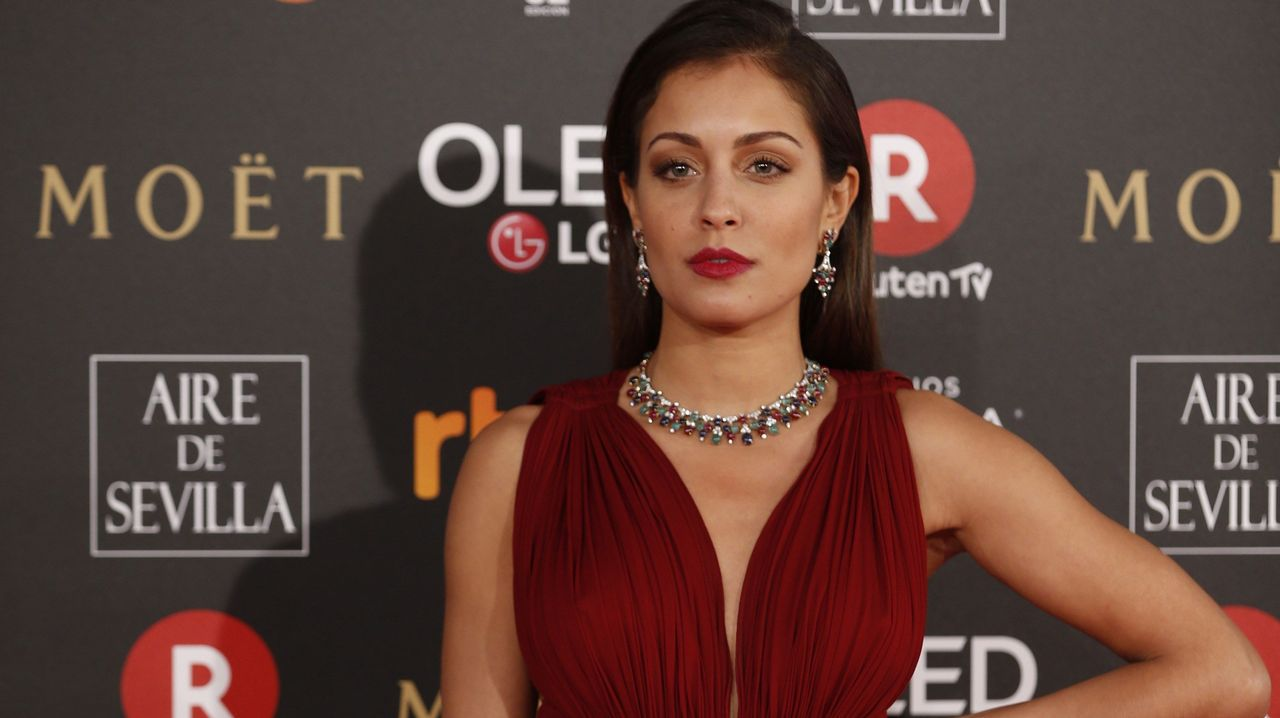 .La actriz Hiba Abouk.
