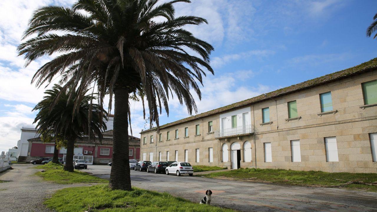 El hotel de Canido tendrá dieciséis habitaciones y un edificio anexo.Jaime García en Londres