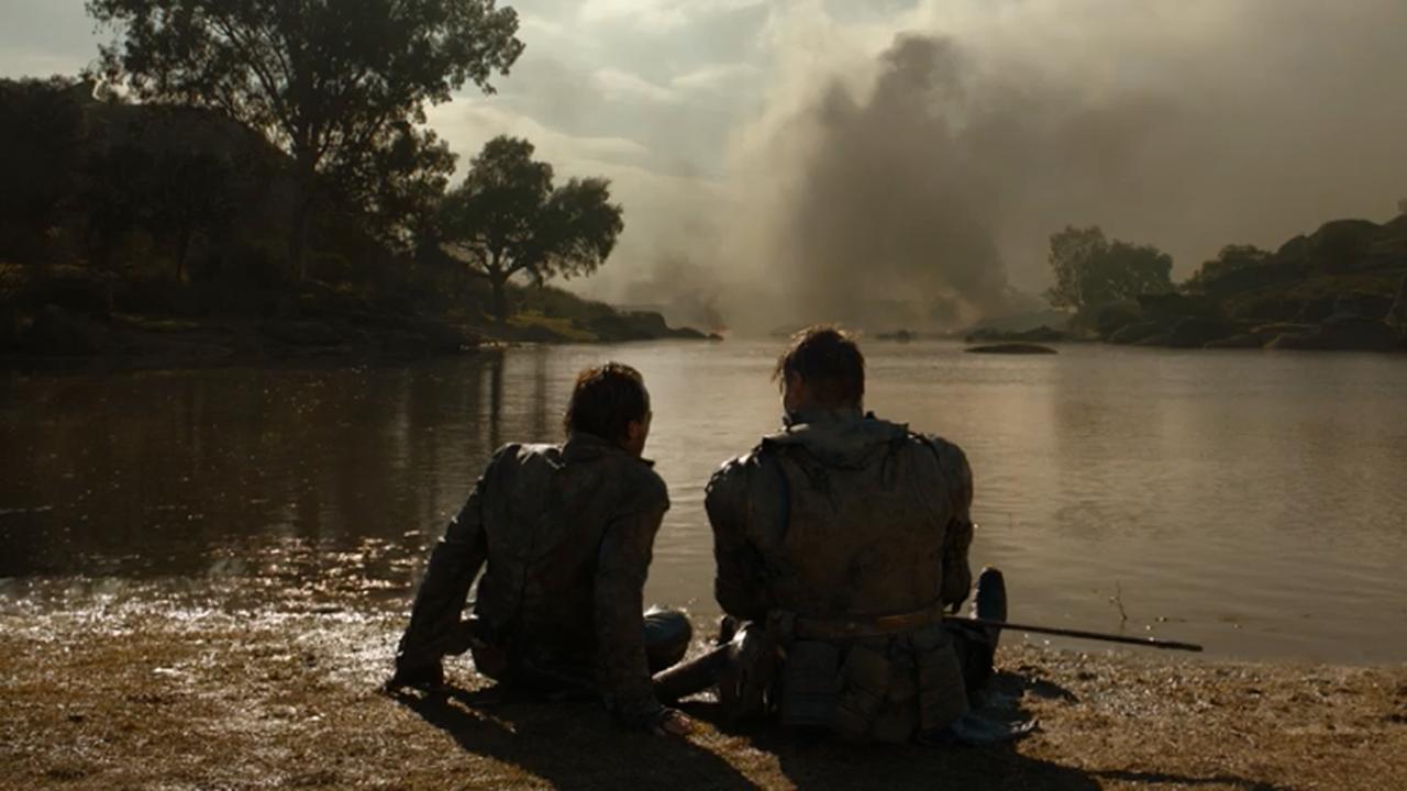 Bronn y Jaime Lannister en el episodio 7x05 de Juego de Tronos