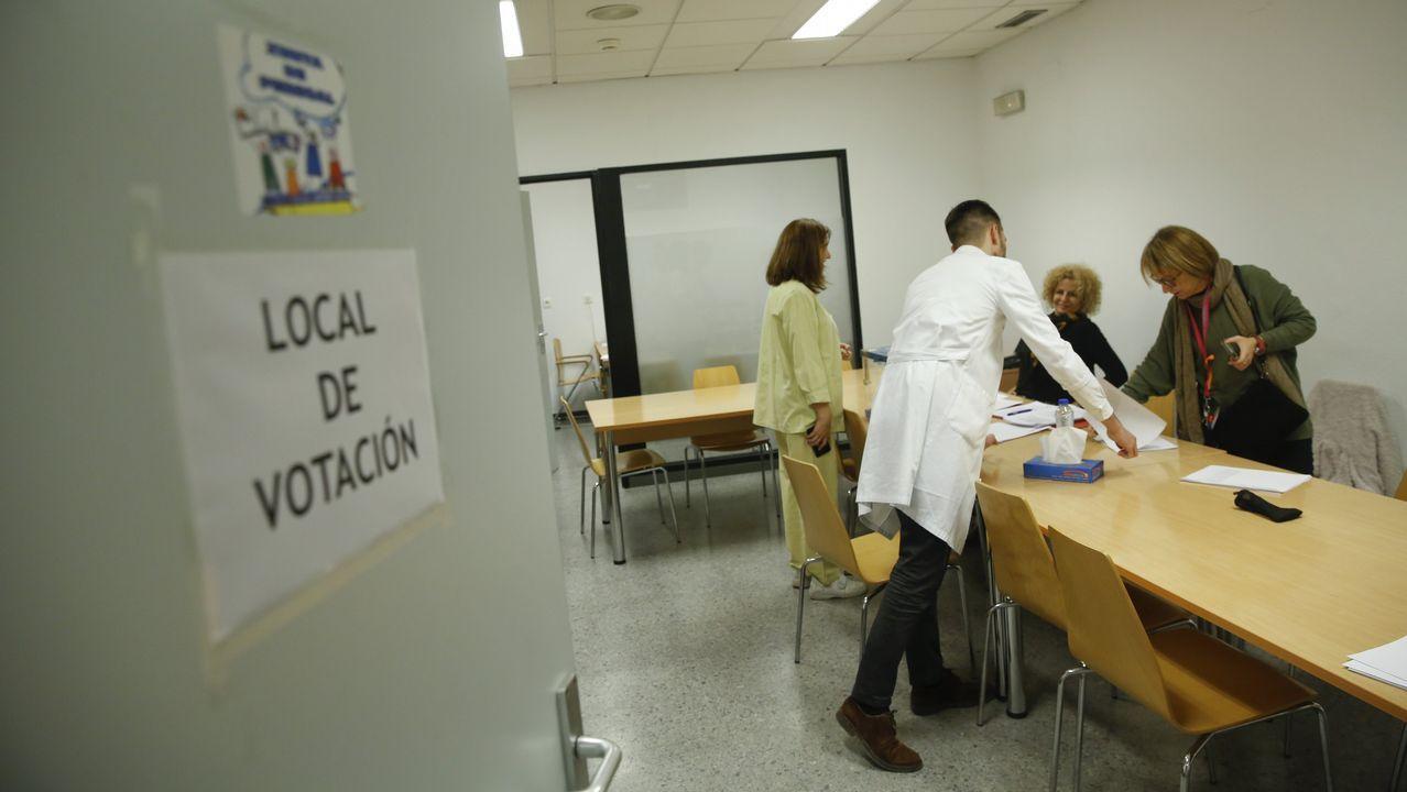 Protestas en el hospital y los centros de salud de Monforte y Chantada