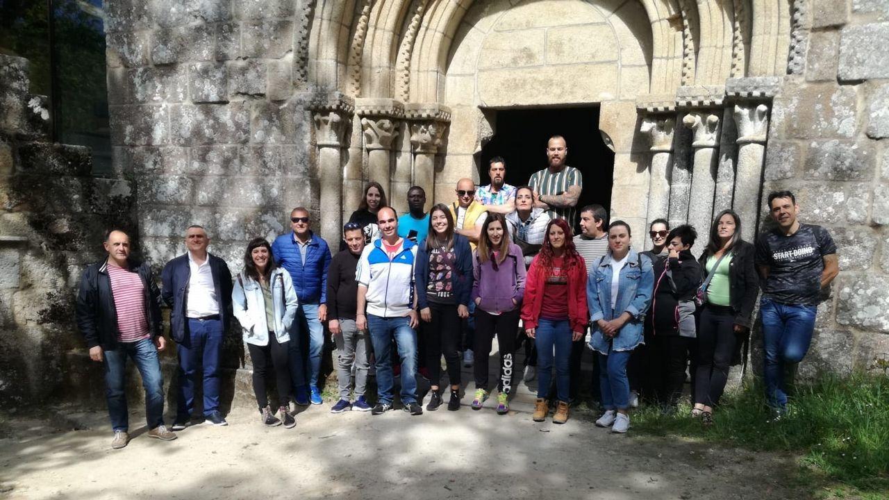 Vista general de la cárcel de Asturias.Luís Iglesia admira especialmente a Oscar Wilde