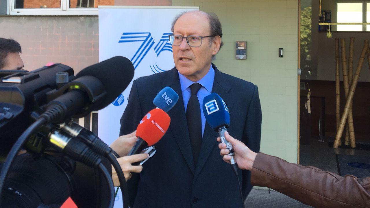 Rufino Orejas, presidente de Química del Nalón