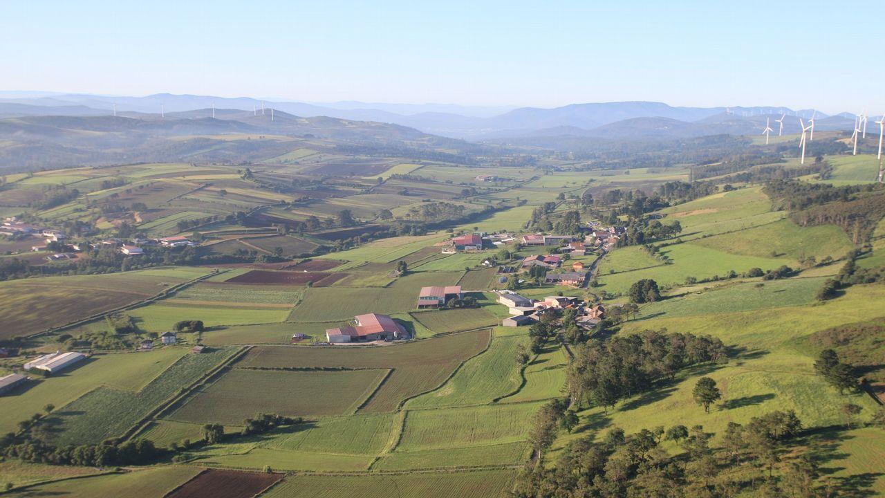 Vista general de Mazaricos en una imagen de archivo