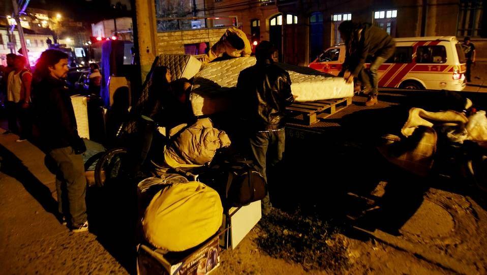 El peor incendio en la historia de Valparaíso.Angela Merkel