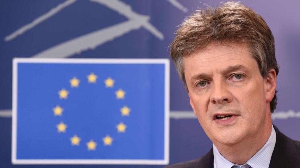 Multitudinaria manifestación proeuropea en Escocia.El británico Jonathan Hill, hasta ahora comisario europeo de Finanzas