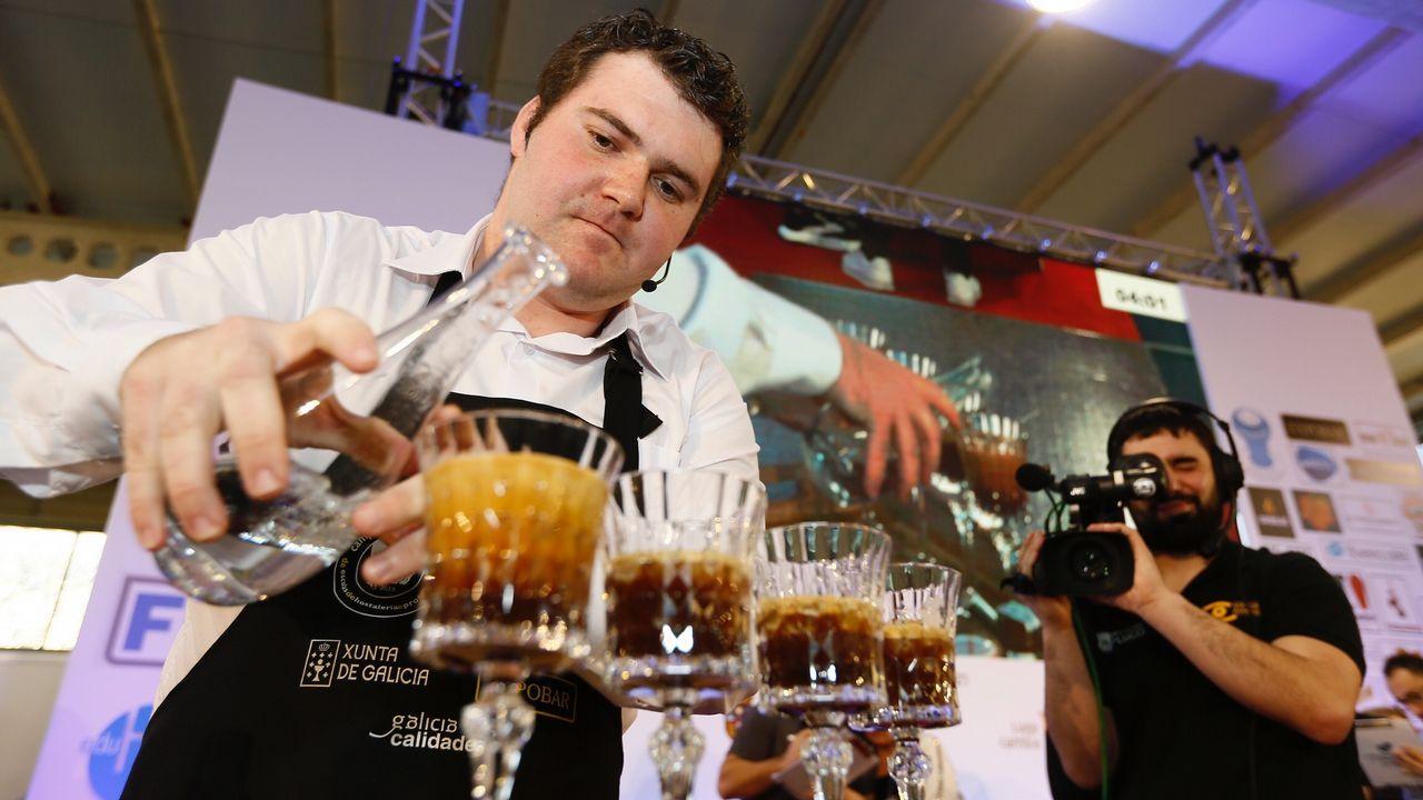 Arranca el campeonato de baristas en Foz