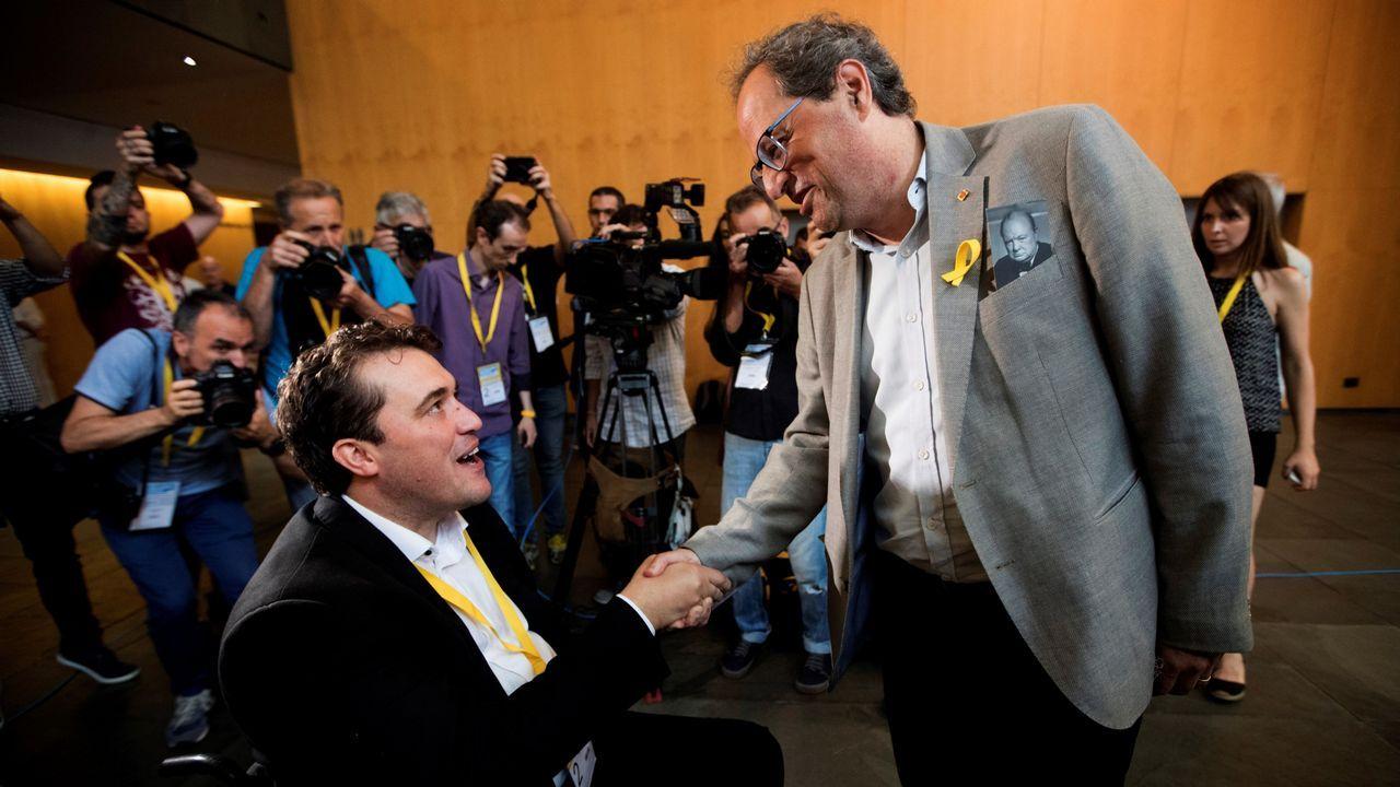 El PDeCAT aprueba la vía unilateral a la indepedencia.El exconsejero catalán, Toni Comín
