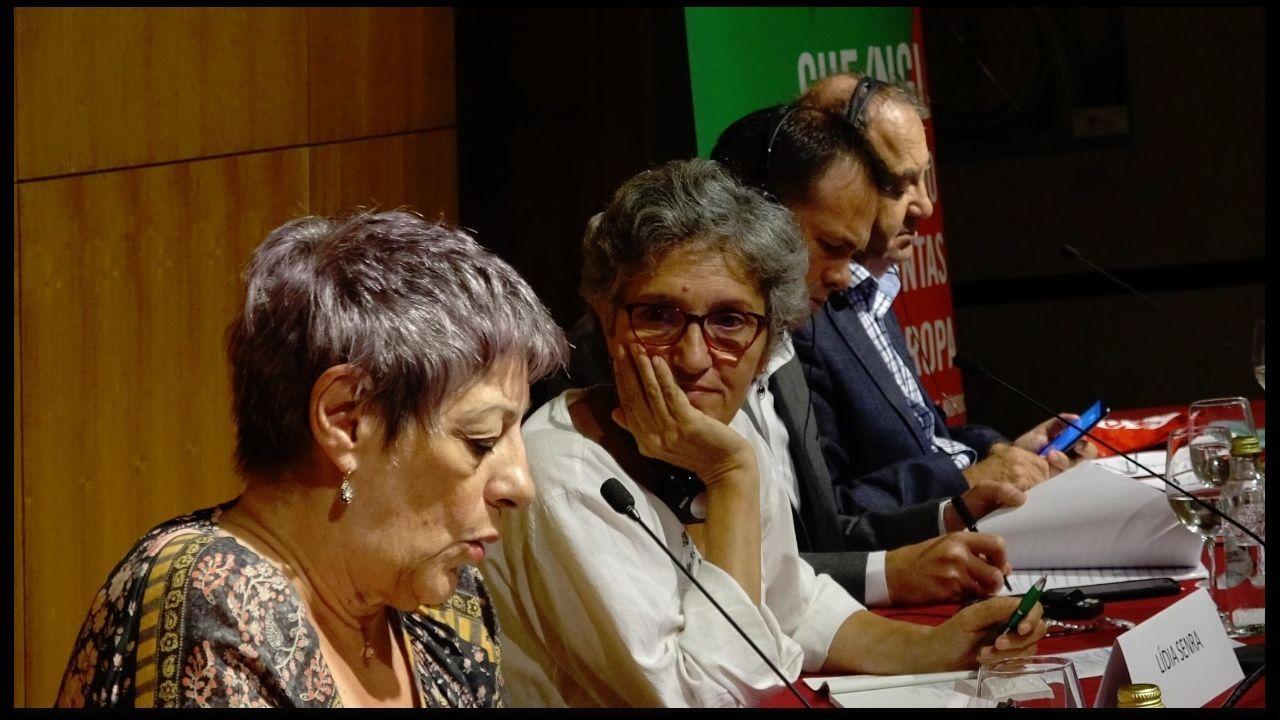 Decenas de periodistas defienden el secreto profesional ante el Supremo.Concentración en Mallorca en apoyo de la libertad de prensa