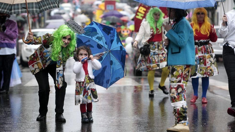 Todas las fotos de los desfiles del martes de carnaval.