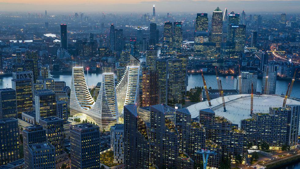 Calatrava anuncia su primer proyecto en Londres, «síntesis» de toda su carrera.