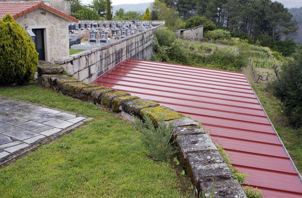 La construcción objeto de este procedimiento penal está en el municipio de Padrenda.