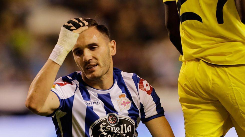 El Deportivo 1 - Villarreal 1, en fotos