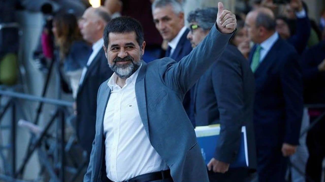 Jordi Sánchez. Expresidente de ANC y diputado de Junts per Catalunya, está acusado de un delito de rebelión