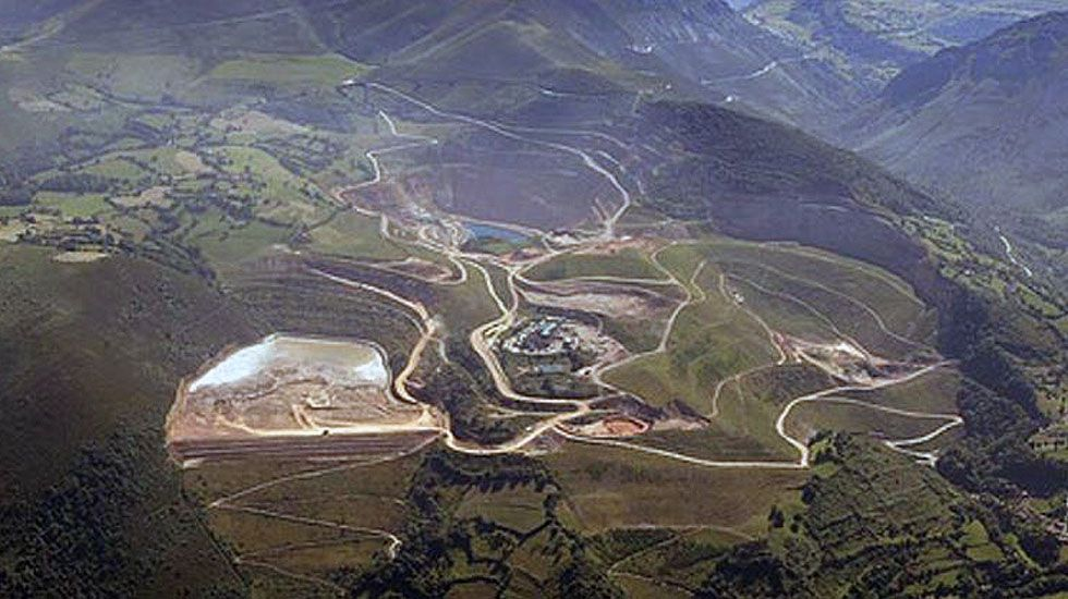 Explotación de minas de oro en Asturias.Explotación de minas de oro en Asturias