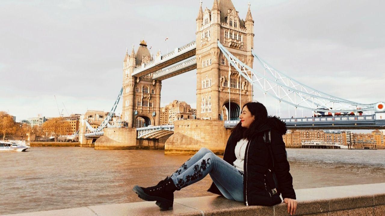 Lucía Platero en Londres