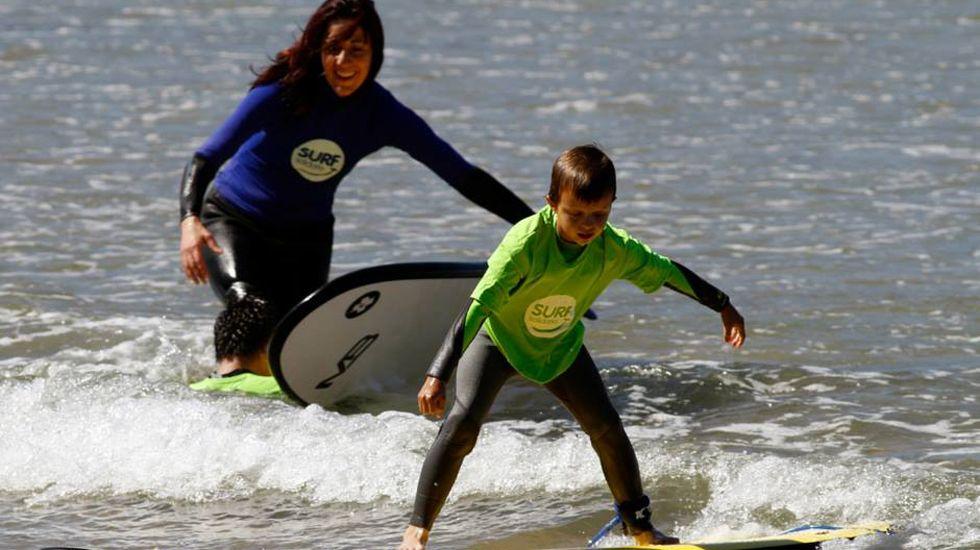 Surf Solidario en San Lorenzo.Surf Solidario en San Lorenzo