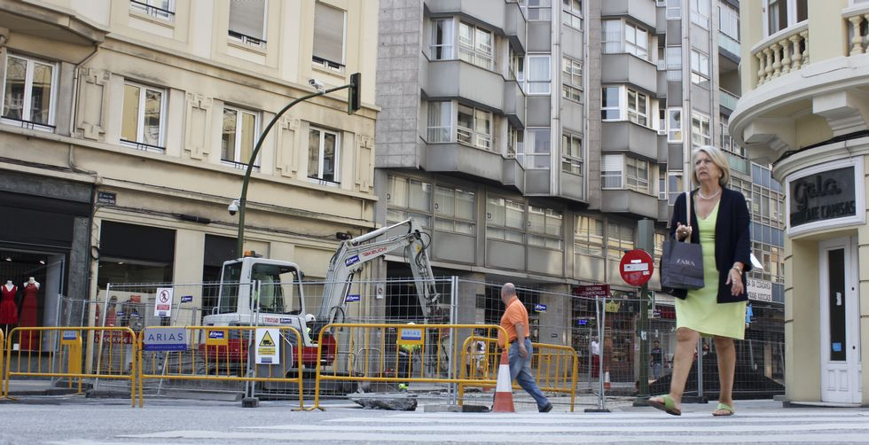 La reurbanización de Federico Tapia, que se inició el pasado 30 de junio, es una de las obras más importantes de la ciudad y continuará hasta el 11 de noviembre.