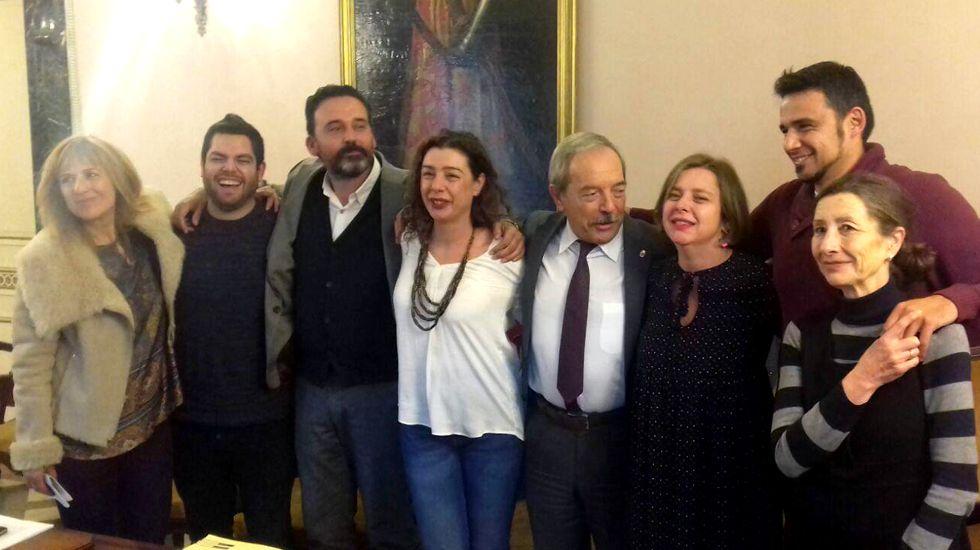 Jesús Iglesias, candidato de Izquierda Unida a la presidencia del Principado..El tripartito aprueba los presupuestos de 2017. ARCHIVO