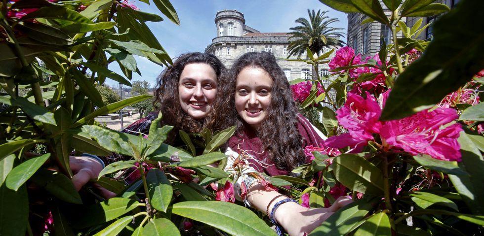 .Julia Baena y Elba García tuvieron que hacer un trabajo de investigación y un proyecto de emprendimiento cada una para la Ruta.